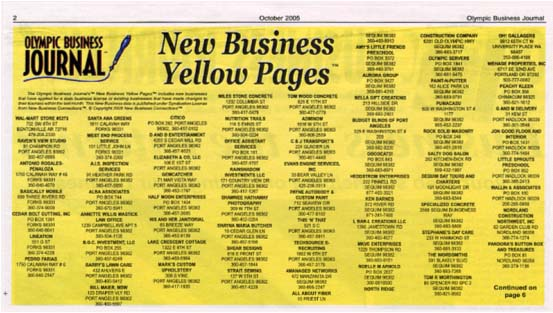 how much is yellow pages monthly